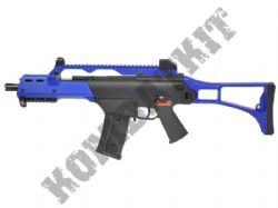 CM011 G36 Electric Auto AEG Airsoft Machine Gun Black and Blue